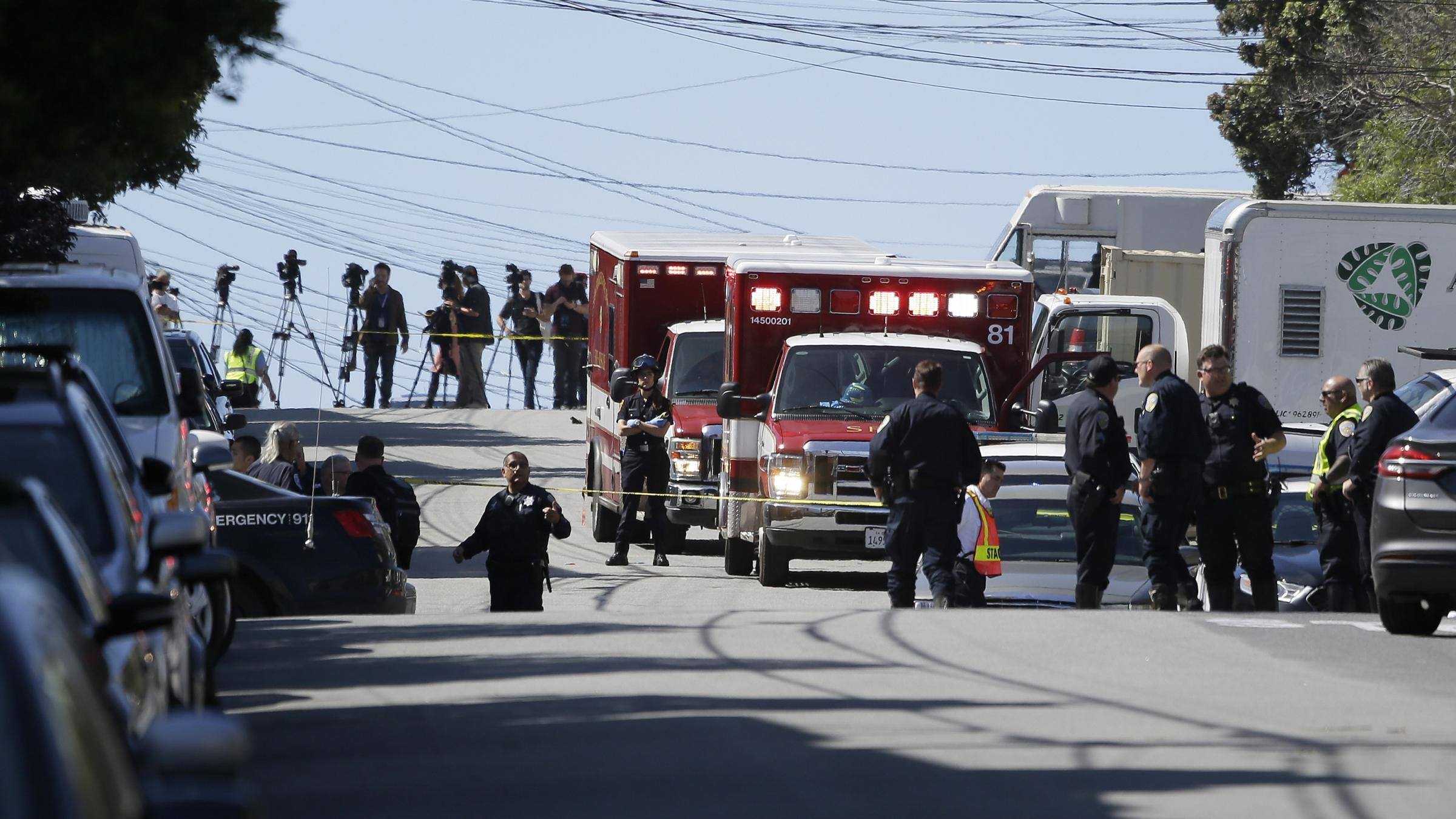Shooting at San Francisco UPS leaves 4 dead, including gunman